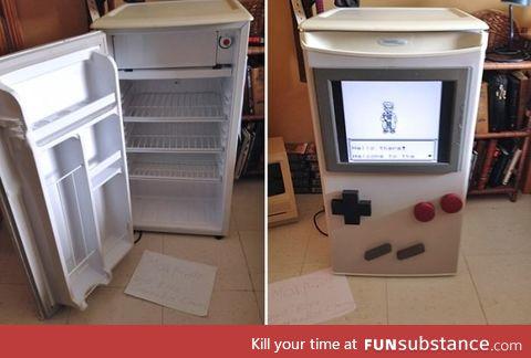 Functioning Gameboy fridge