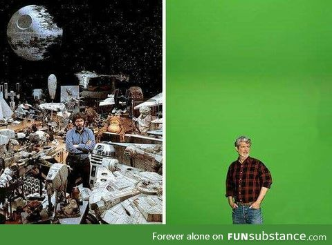 Star wars Before/now