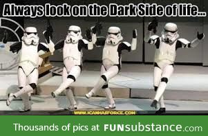 Just something to serve as a star wars fix for some.