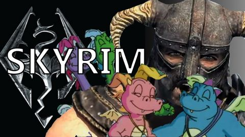 Oh man, skyrim NEVER gets old