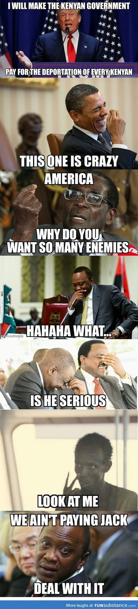 This man clearly does not know African Governments
