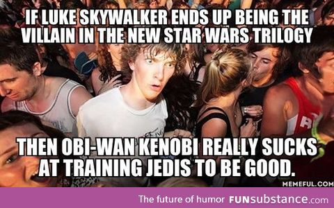 Or Obi-Wan is really good at training Siths