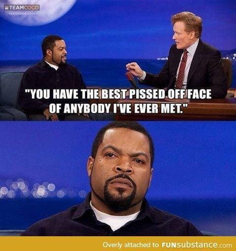 An angry black man