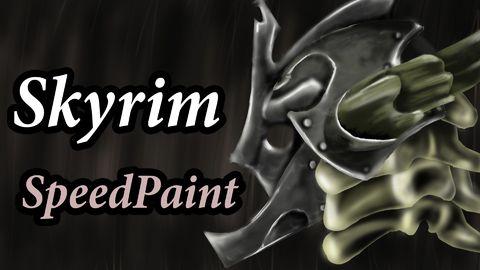 Amazing Skyrim Speedpaint