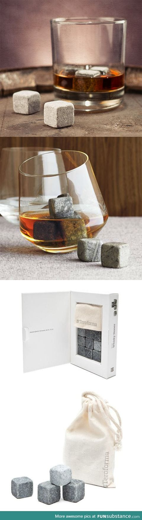 Ice Cube Stones - Make your drinks cold without watering it down