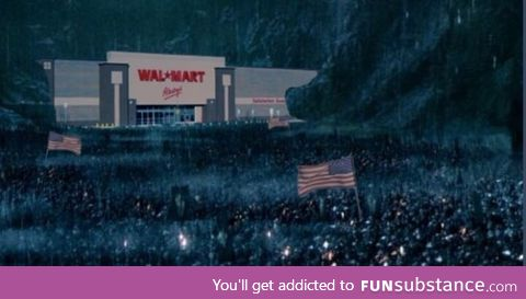 What Europeans think how black friday looks like in America