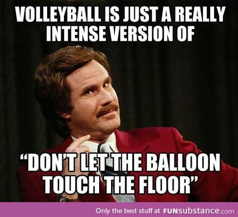 Truth about volleyball