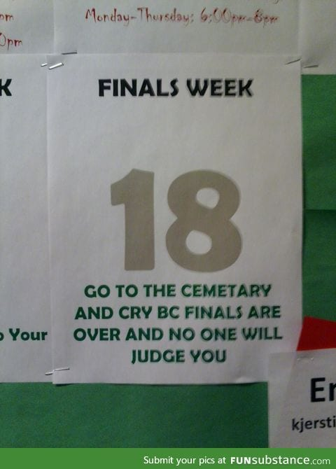 I finally understand why there's a cemetery on campus