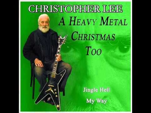 sir christopher lee released 3 metal christmas albums funsubstance tv - Heavy Metal Christmas Music