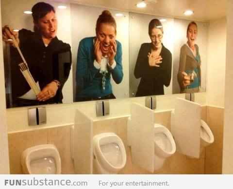 Awkward Restroom