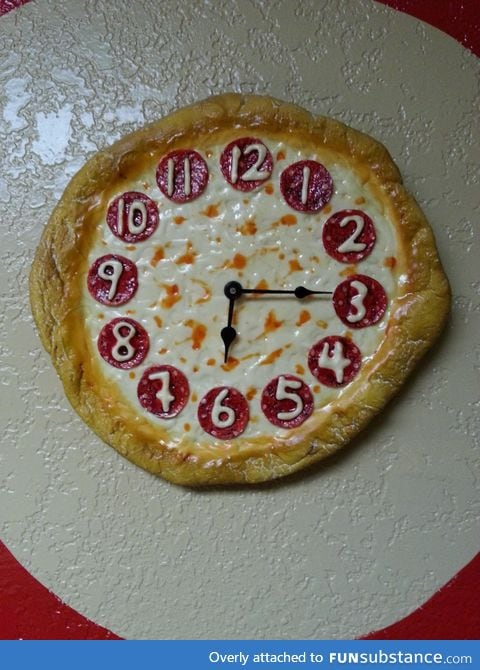 It's always pizza time