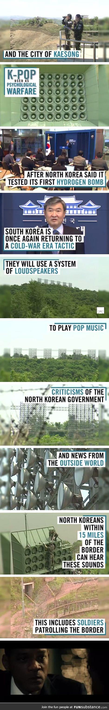 South korea strikes back