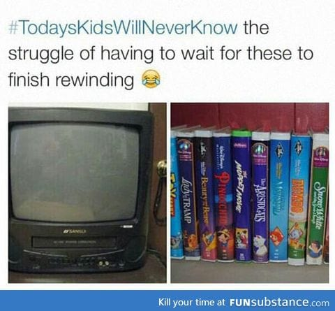 Kids Today Don't Know The Struggle