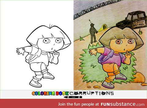 Dora's exploring new territory