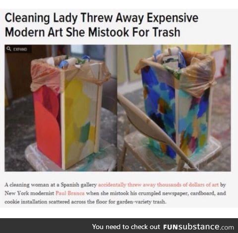 """""""Modern"""" art."""