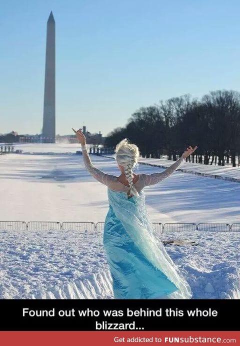 Godd*mn it Elsa
