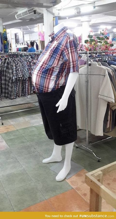 Finally making realistic mannequins in the men's department?