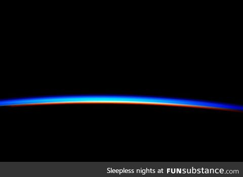 Sunrise on the ISS, from astronaut Scott Kelly