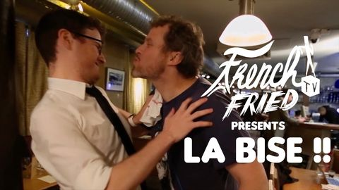English guy explains the hassle of saying hello by kissing your friends the right way