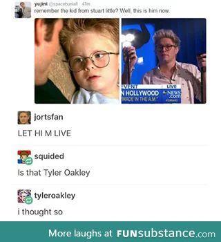 Tyler Oakley?