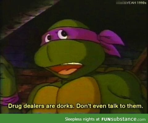 Donatello knows what's up