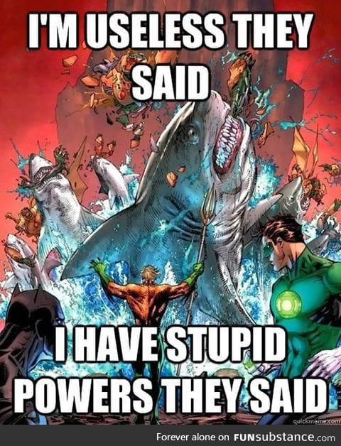 Angry Aquaman