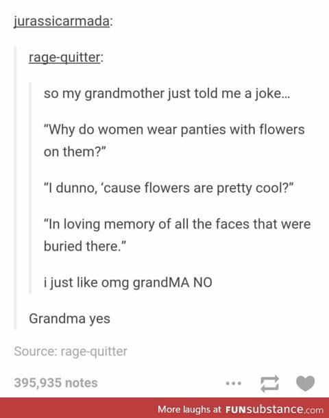 grandma yes
