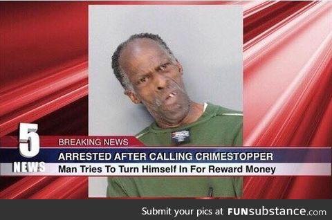 Man turns himself in