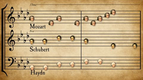 57 classical music tunes mashed into one surprisingly satisfying piece