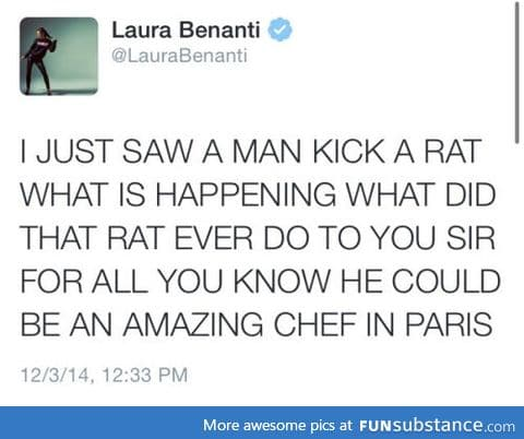 THAT IS NOT HOW YOU TREAT THE FINEST CHEF IN PARIS