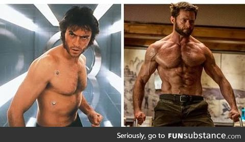 in the next movie he'll just be a sentient muscle cell