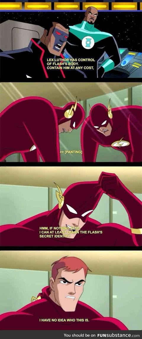 Flash secret identity