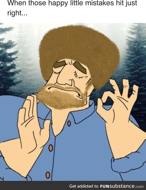 When the brush hits the canvas just right