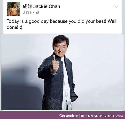 thank u jackie