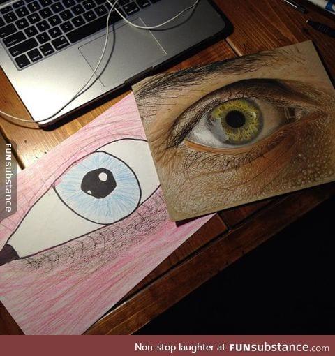 Artist's Incredible 13 Years Progress