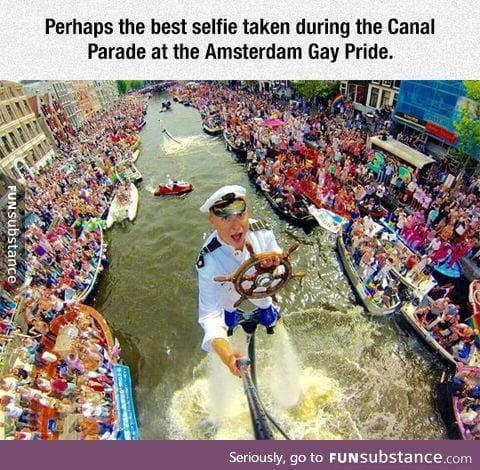 Most epic selfie ever
