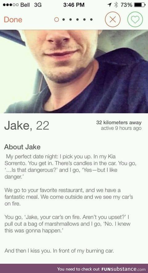 Jake though...