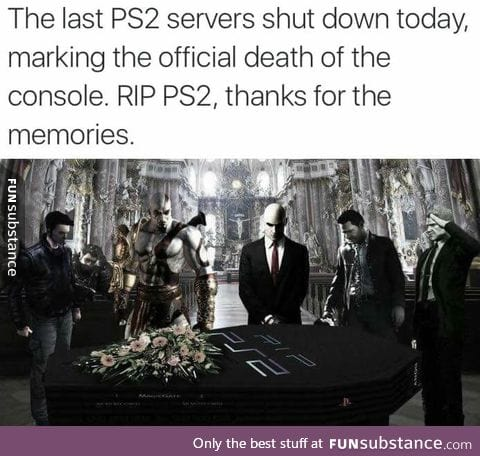 Farewell, PS2