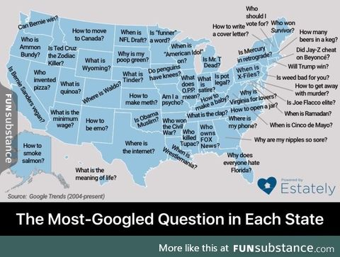 Most googled