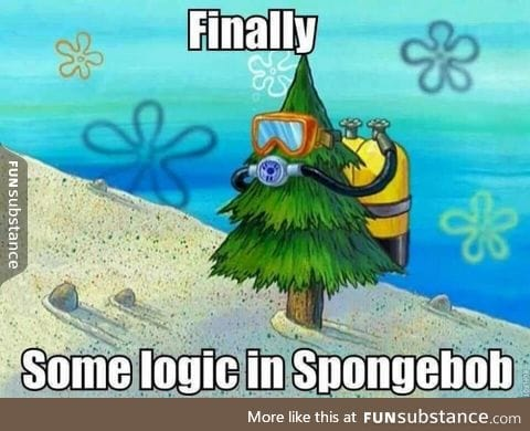 Oh Spongbob finally