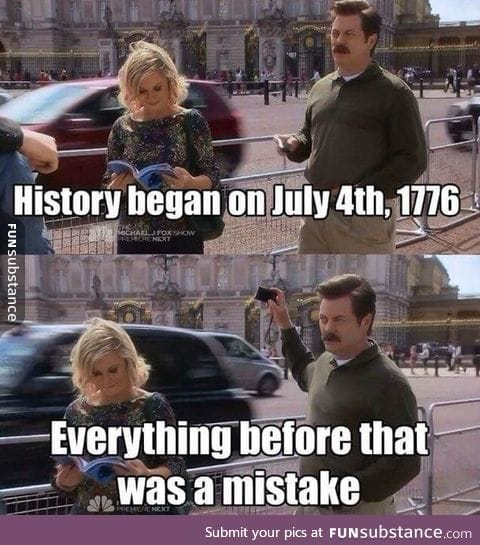 Ron Swanson on History