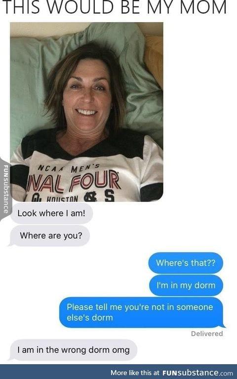 Classic mom
