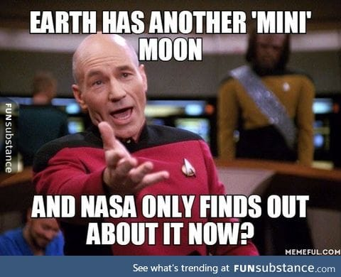 Mini moon discovered