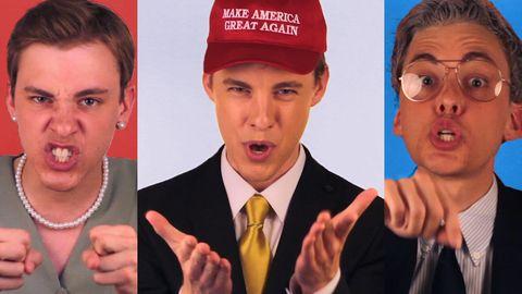Politiclash rap battle