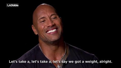 The Rock and Kevin Hart swapping places