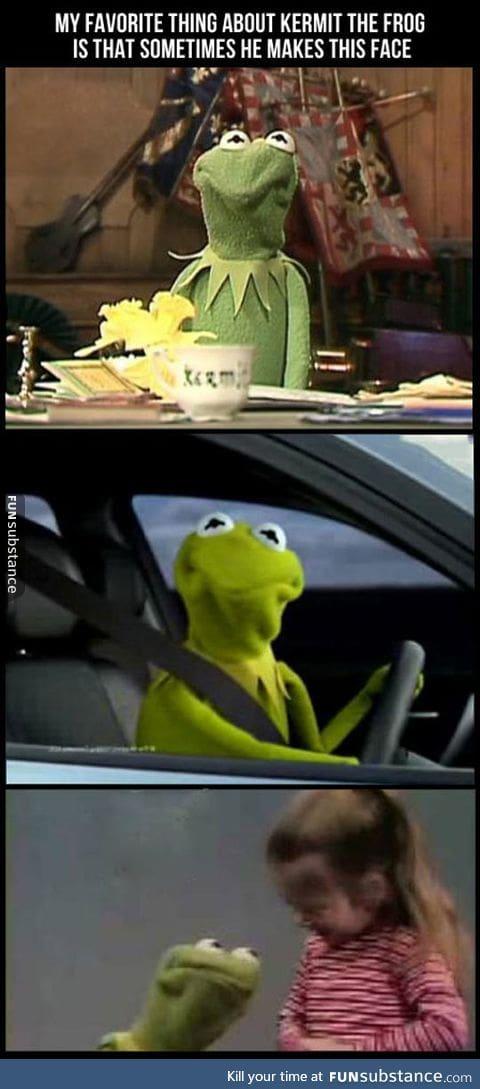 Favorite thing about kermit