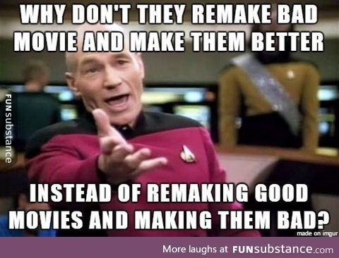 About movie remakes