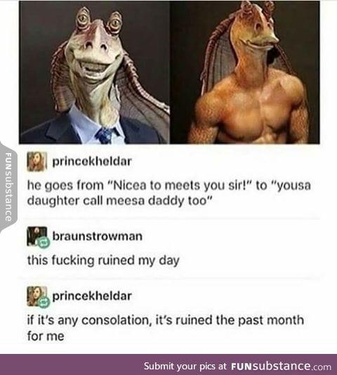 I'm laughing so hard