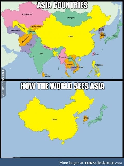 There are a lot of Asians out there people