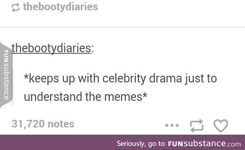Keeping Up With The Celebrity Memes
